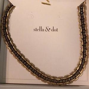 Stella & Dot Jolie Sparkle Chain Necklace